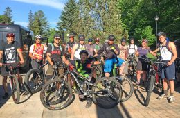Sortie groupe Vélo Mont-Tremblant